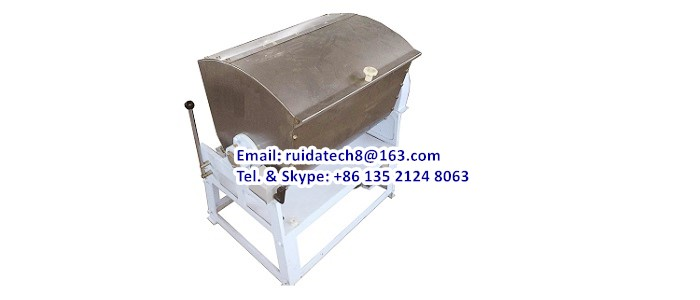1. Industrial Horizontal Dough Mixer